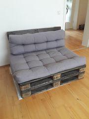 Palettensofa Zweisitzer Sofa