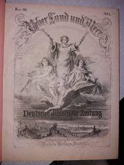 Antiquarische Illustrierte Über Land und