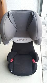 CYBEX Solution X Silver Line