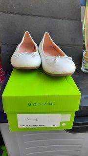 Ballerina - Unisa - weiß - 36 - getragen -