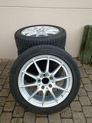 Winterräder 205 50 R17 Mercedes