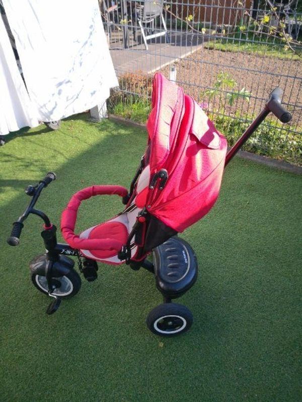 besrey Dreirad 7-in-1 Kinder Fahrrad
