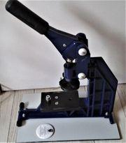 Buttonmaschine BM600 inkl Zubehör Rohlinge -