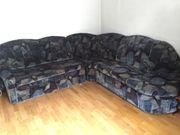 Wohnzimmer-Couch Schlafcouch Polstermöbel Sessel Tisch