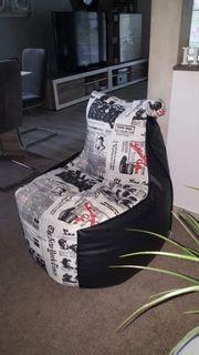 Cooler Sitzsack