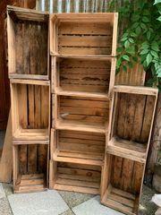Alte Obstkisten Holz für Möbel