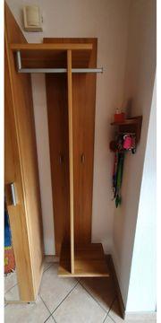 Garderobe 3-teilig in Buche