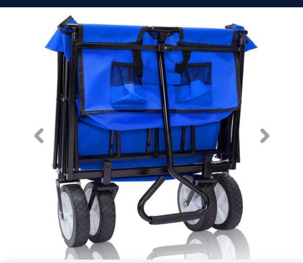 Bollerwagen klappbar Ziehwagen Gartenwagen Anhänger