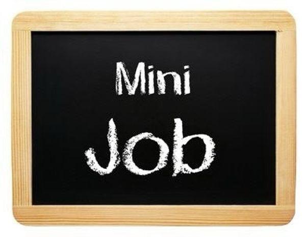 Nebenbei Geld verdienen Minijob