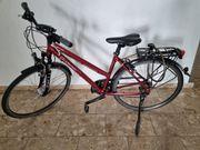 Fahrrad Damen rot 19 Zoll