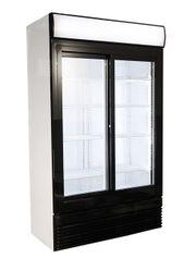 Kühlschrank mit Schiebetüren Getränkekühlschrank Kühlregal