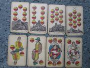 Doppelfigurenblatt Burgen Schlösser handcoloriert um