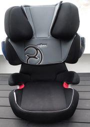 Cybex Auto-Kindersitz Solution X2-fix-Rastarme schwwarz-rot