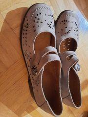 Ballerina-Schuh von Medicus Decksohle echt