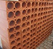 Weinlagersteine aus Ton - Rot 2er