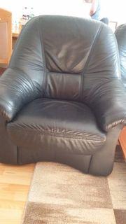 Sofa aus Bisson Leder