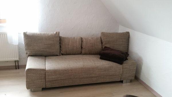 Sofa mit Schlaffunktion Ohrensessel