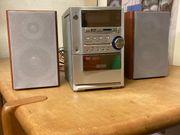 Mini-Stereoanlage von Welltech