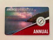 America the Beautiful - Eintrittskarte Nationalparks