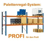Palettenregal - Hochregal System PROFI - NEU -