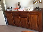 2x Kleiderschrank passendes Sideboard Mahagoni