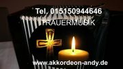 Trauermusik Beerdigungsmusik mit Akkordeon