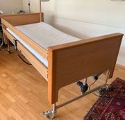 Pflegebett elektrisch verstellbar inkl Matratze