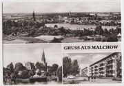 Ansichtskarte von Malchow aus d