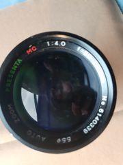 Teleobjektiv Kameraobjektiv