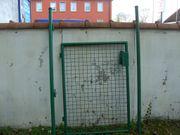 Grüne Gartentüre 90 x 125