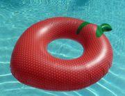 Großer aufblasbarer Schwimmring Erdbeer - Style