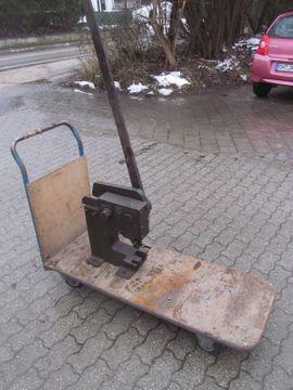 Werkzeuge - große sehr schwere gebrauchte alte