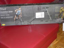 Fitness, Bodybuilding - Neue Trainigsbank für Zuhause