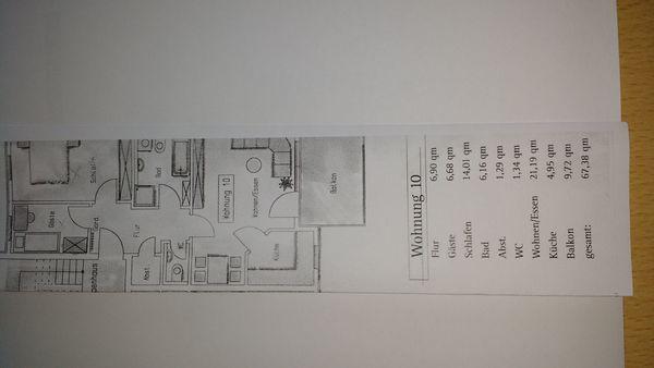 Schöne große helle 3-Zimmer-Etagenwohnung prov