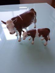 Schleich Kuh mit Kalb