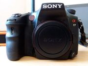 Sony Alpha SLT-A77V Blitz Zubehörpaket