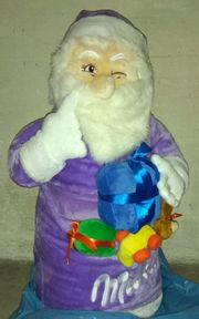 XXL Milka Nikolaus Weihnachtsmann ca