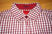 schönes rotweiß kariertes Hemd von