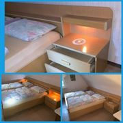 Doppelbett kpl mit Matratzen Lattenrost