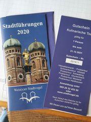 Gutschein für Stadtführung München