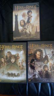 Herr der Ringe Trilogie DVD