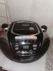 CD Radiorekorder mit USB Silva