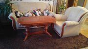 Sofa Sessel Tisch