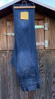 Motorradhose aus Jeansstoff mit Kevlareinlage