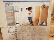 Geuther Türschutzgitter 4793 - Metall - weiß