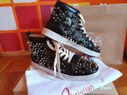 Christian Black Louboutin Gold Supreme
