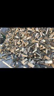 Günstiges ofenfertiges Brennholz