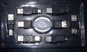 7-teiliges USB Adapter-Set