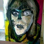 Sebstgemaltes bild acryl