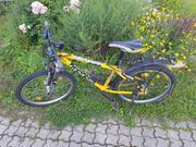 Fahrrad Kinderfahrrad 24 Zoll gelb